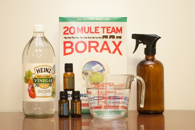 DIY cleaners with essential oils