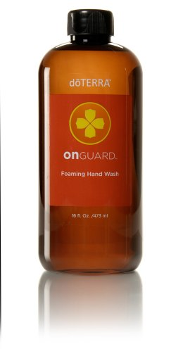 Hand-washing is an important health precaution and placing On Guard Foaming Dispensers at every sink around the home and office provides those in your home and workplace with On Guard protection throughout the day. On Guard Foaming Hand Wash is conveniently packaged in a 16-oz. refill bottle that fills 8-oz foaming dispensers, saving the earth's resources and your money.